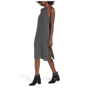 SOPRANO Black Halter Strappy Shift Dress, NWT